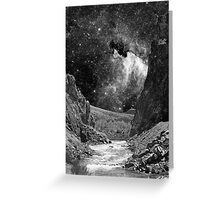 Desert Wash with Stars Greeting Card