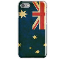 Vintage Australia Flag iPhone Case/Skin