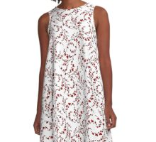 Love pattern. Valentine's Day A-Line Dress