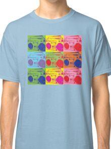 80s Boombox Pop Art Classic T-Shirt