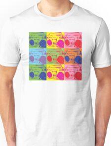 80s Boombox Pop Art Unisex T-Shirt