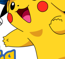 Pikachu Lays Out Sticker