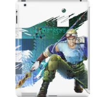 Cid Highwind Grid Artwork and Logo iPad Case/Skin