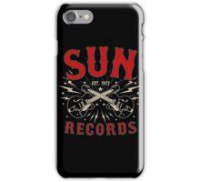 Sun Records Sparkling  iPhone Case/Skin