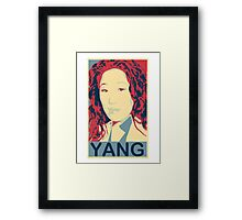 """Oh, screw beautiful, I'm brilliant! "" - Cristina Yang * laptop skins, and mugs added * Framed Print"