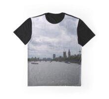Thames Traffic Graphic T-Shirt