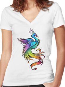 phoenix Women's Fitted V-Neck T-Shirt