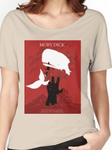 Red MobyDick Women's Relaxed Fit T-Shirt