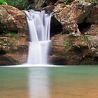 Ohio Waterfall by Kenneth Keifer