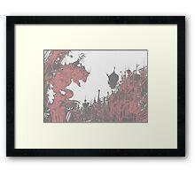 Terra-nigma Framed Print