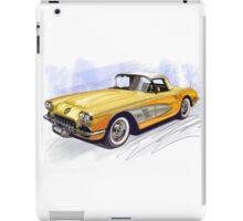 50s CORVETTE iPad Case/Skin