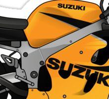 Suzuki SRAD 600 1998 Yellow Sticker