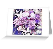 Happy birthday! Greeting Card