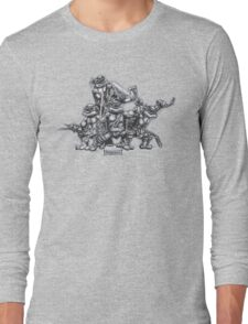 Heroes in a Half Shell!!! Long Sleeve T-Shirt