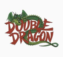 DOUBLE DRAGON - MASTER SYSTEM ART BOX Kids Tee