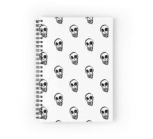 Halloween Skeletons Cases, t-shirts, stickers & so much more. (white background) Spiral Notebook