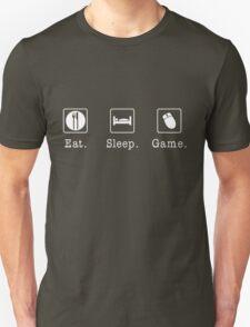 Eat. Sleep. Game. - PC T-Shirt
