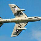 Hawker Hunter T.7 WV372 G-BXFI by Colin Smedley