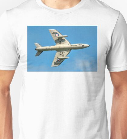 Hawker Hunter T.7 WV372 G-BXFI Unisex T-Shirt