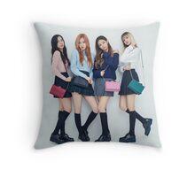 Blackpink 블랙핑크 BLΛƆKPIИK KPOP Boombayah Lisa Rose Jennie Jisoo Throw Pillow
