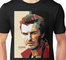 David Beckham Colorful WPAP #4 Unisex T-Shirt
