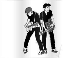 John and Paul Poster