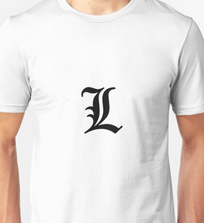 death note L Unisex T-Shirt
