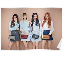 Blackpink 블랙핑크 BLΛƆKPIИK Whistle Boombayah Lisa Rose Jennie Jisoo Poster
