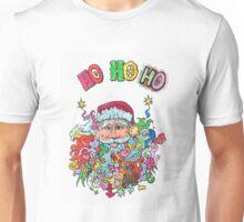 Santa's having a Groovy Christmas Unisex T-Shirt