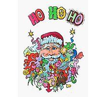 Santa's having a Groovy Christmas Photographic Print