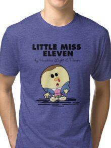 Little Miss Eleven Tri-blend T-Shirt