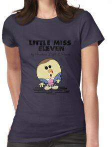 Little Miss Eleven Womens Fitted T-Shirt