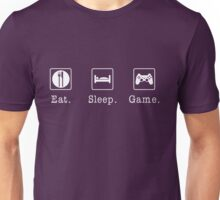 Eat. Sleep. Game. - PlayStation Unisex T-Shirt