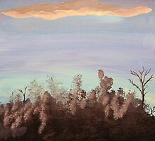 Forest Sky 2of 3 by Bryan Kopeck