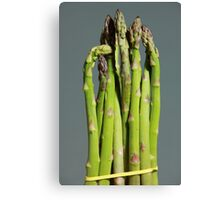 Green Asparagus Canvas Print