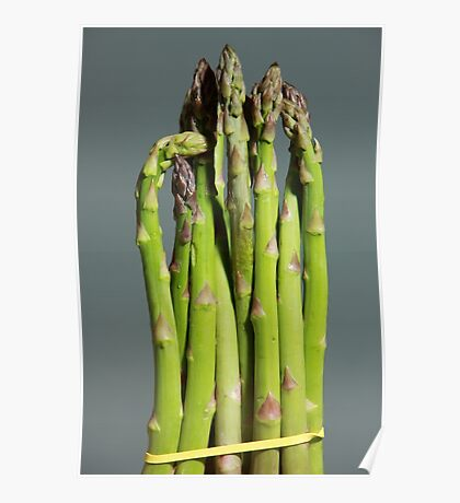 Green Asparagus Poster