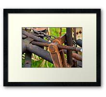 Hay Tedders Framed Print