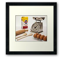 Kitchen Scale Framed Print