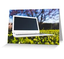 Laptop Greeting Card