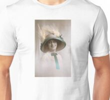 Edwardian lady in a picture hat Unisex T-Shirt