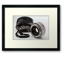 Lens Extender Framed Print