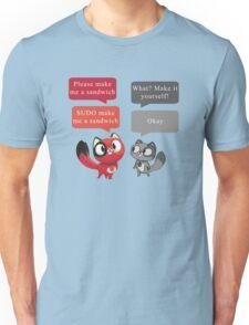 Make me a sandwich! Unisex T-Shirt