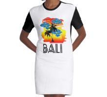 Bali Graphic T-Shirt Dress
