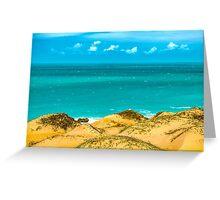 Dunes and Ocean Jericoacoara Brazil Greeting Card