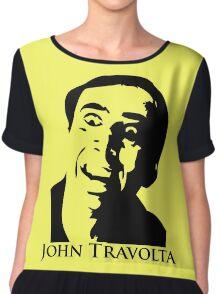 John Travolta Chiffon Top