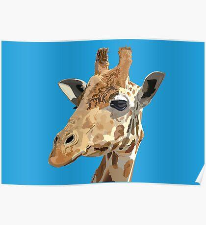 Proud Giraffe  Poster
