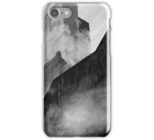 Graffiti - Shipping Containers, Fog, & Copenhagen iPhone Case/Skin