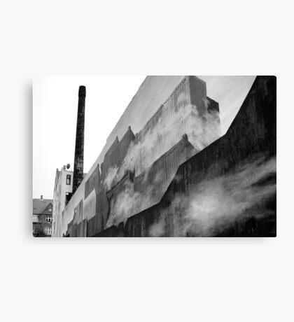 Graffiti - Shipping Containers, Fog, & Copenhagen Canvas Print