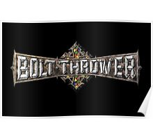 Bolt Thrower Cathedral Logo Poster