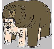 Ugly Americans - Jimmy Bear Hug Photographic Print